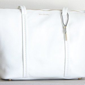 NWT Vera Bradley Mallory Tote - White Leather